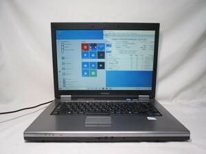 東芝 dynabook Satellite PXW/55KW PAPW55KLG10W Celeron 900 2.2GHz 4GB 320GB 15インチ DVDマルチ Win10 64bit Office Wi-Fi [79023]
