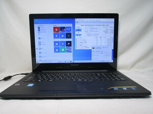 Lenovo G50 80E502UBJP Core i3 5005U 2.0GHz 4GB 500GB 15.6インチ DVD作成 Win10 64bit Office USB3.0 Wi-Fi HDMI [79011]