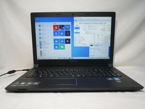 Lenovo B50 59426338 Core i5 4210U 1.7GHz 8GB 500GB 15.6インチ DVD作成 Win10 64bit Office USB3.0 Wi-Fi HDMI [79121]