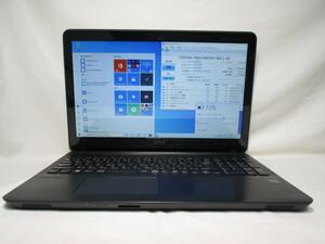 SONY VAIO Fit VJF151 Celeron 2957U 1.4GHz 4GB 500GB 15インチ DVD作成 Win10 64bit Office USB3.0 Wi-Fi HDMI [79134]