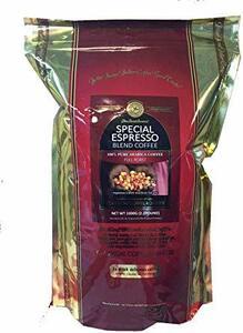 ▼◆△コーヒー豆 スペシャル エスプレッソ ブレンド 2.2lb ( 1Kg ) 【 豆 のまま 】 100% アラビカ コーヒ