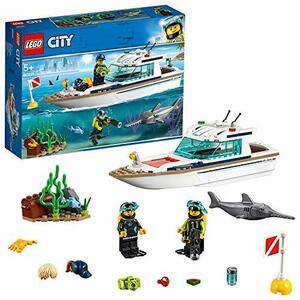 ◆▼○レゴ(LEGO) シティ ダイビングヨット 60221 ブロック おもちゃ ブロック おもちゃ 男の子 車