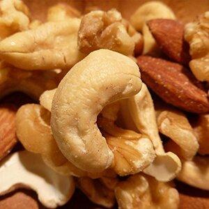 □◇◇1kg 無添加ミックスナッツ 1kg (くるみ,アーモンド,カシューナッツ) 食塩、オイル使用無し