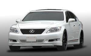 在庫有り!! レクサス(LEXUS)LS460系 「中期用」  ABS製ハーフエアロ3点set(フロント・サイド・リア) 人気上昇中!!