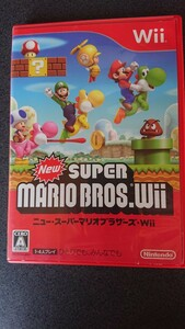 Wiiソフト Newスーパーマリオブラザーズ Wii