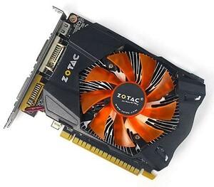 【中古】ZOTAC製グラボ GeForce GTX 650 ZT-61004-10M