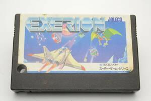 【K3614】MSX/ROM ソフト/エクセリオン EXERION/ゲームソフトのみ