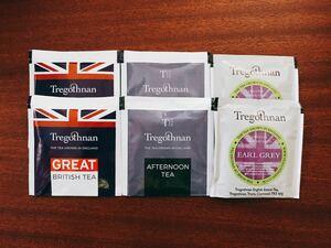 【新品未開封】イギリス トレゴスナン 紅茶 ティーバッグ3種×2袋ずつ 合計6袋