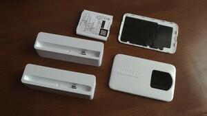 WX02 モバイルルーター クレードル セット