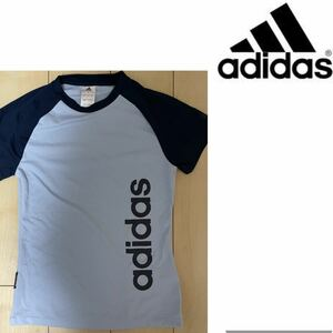 ◆adidas◆未使用!アディダストレーニングウェアロゴTシャツ