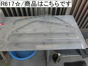 三菱 タウンボックス U63W ドアバイザー サイドバイザー バイザー 雨除け 1台分セット 中古部品 車 中古 自動車