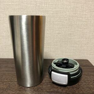 真空断熱マグ・ステンレスボトル(保温・保冷)こぼれないワンタッチ開閉オートシールボタン・安全ロック機能搭載