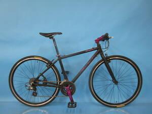 即決 ☆大阪西淀☆ FUJI ABSOLUTE S アルミフレーム クロスバイク 700C 3×8 フジ アブソリュート シマノ ALTUS 中古 自転車 a62