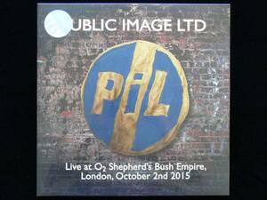 [新品][送料無料] PiL / Live at O2 Shepherd's Bush Empire, London October 2nd 2015 [アナログレコード 2LP] Public Image Ltd