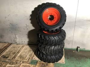 新品 タイヤ・ホールセット 10-16.5 TCMボブキャット725 ジョブサン