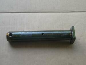 バケットピン径35mmX1本 ヤンマーVio20-3等ツバ付きグリス穴あり