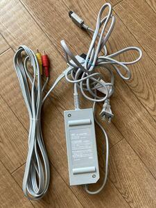 任天堂 Wii ACアダプター AVケーブル セット 3A