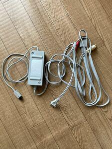 任天堂 Wii ACアダプター AVケーブル セット 6A