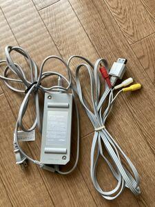 任天堂 Wii ACアダプター AVケーブル セット 10A
