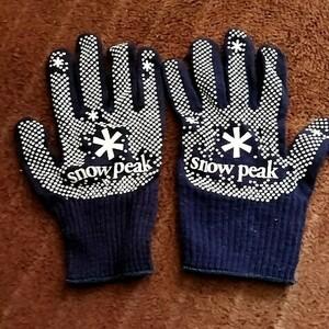 スノーピーク レア グローブ  手袋