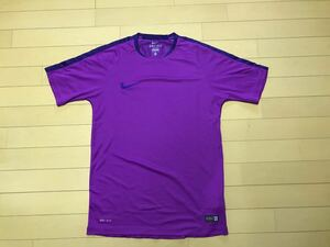 再値下げ NIKE ナイキ トレーニングウェア スポーツシャツ 半袖 メンズM パープル 紫