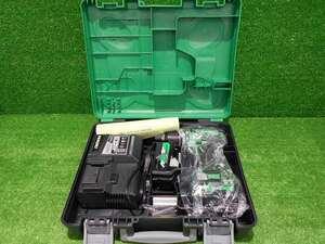 【HIKOKI/ハイコーキ】DS18DBSL 13mm コードレスドライバドリル バッテリー 2コ 充電器 付