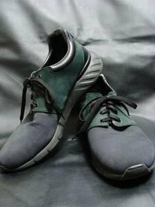 LOUIS VUITTON ルイヴィトン ◇ G00157 ファストレーン ダミエ グラフィット 柄 ナイロン レザー ラバー シューズ スニーカー 靴
