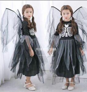 ハロウィン 衣装 仮装 子供用 巫女 悪魔 魔女 キッズ コスプレ halloween パーティー イベント コスチュームb35