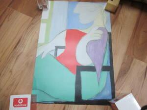 PICASSO~ピカソ ポスター ② 『窓辺に座る女』33*48㎝