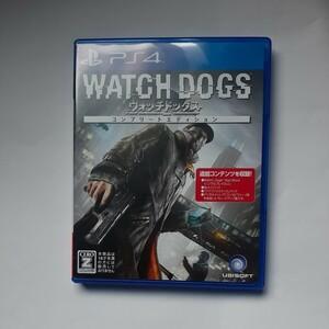 PS4 ウォッチドッグス コンプリートエディション