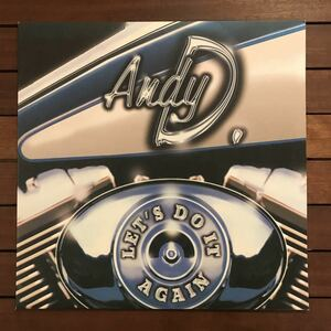 ●【eu-rap】Andy D. / Let's Do It Again[12inch]オリジナル盤《3-2-18》