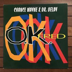 ●【reggae-pop】Chance Wayne & Dr. Delay / OK Fred[12inch]オリジナル盤《3-2-32 9595》