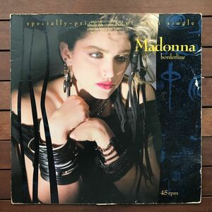 ●【r&b】Madonna / Borderline _ Lucky Star[12inch]オリジナル盤《9595》