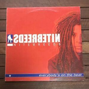 ●【eu-rap】Nitebreeds / Everybody Is On The Beat [12inch]オリジナル盤