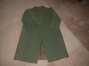 ミセス用緑コート中古品