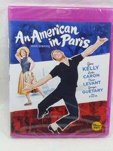 即決 全国一律送料無料 未開封 ブルーレイ 韓国版 日本語字幕入 巴里のアメリカ人 An American in Paris Blu-ray ゆうパケット発送