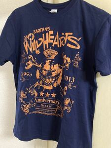 THE WILDHEARTS Tシャツ Sサイズ 2013年来日公演 ワイルドハーツ ワイハ ジンジャー 20th Anniversary Show 20周年 バンドTシャツ