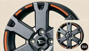 タフト アルミホイールデカール ダイハツ純正部品 LA900 LA910 パーツ オプション