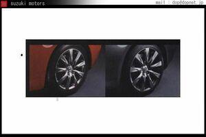 スカイラインクーペ レイズ製19インチアルミホイール(センターキャップ、エアバルブ付き) 4本セット 日産純正部品 パーツ オプション