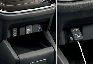 フリード USBチャージャー(ナビ装着用スペシャルパッケージ装備車専用) ホンダ純正部品 GB7 GB8 GB5 GB6 パーツ オプション