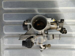 送料込み DBA-L650S-GPVF ミラジーノ EF-VE 4ピンコイル 純正 スロットルボディ