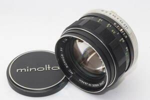 【良品】MINOLTA ミノルタ MC ROKKOR-PF 58mm F1.4 #K4