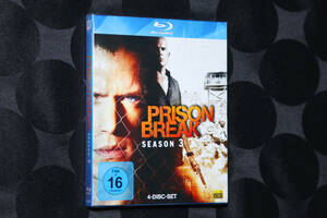 即決 送料無料 未開封 新品 プリズン・ブレイク シーズン3 4枚組 Blu-ray BOX 映像特典