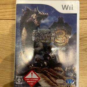 Wiiソフト モンスターハンター3