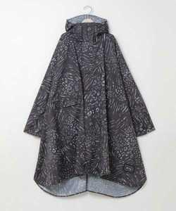 kiu レインポンチョ 男女兼用 レインコート 新品タグ付き アニマルミックスグレー