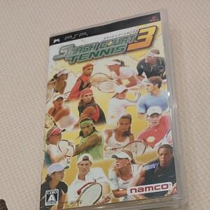 スマッシュコートテニス3 PSP  PSPソフト