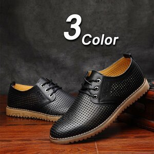 通気シューズ 革靴 ビジネスシューズ メンズ フラットシューズ 通気シューズ 革靴 ビジネスシューズ メンズ フラットシューズ サマー 革