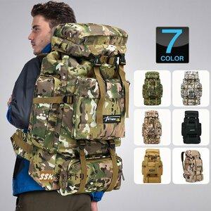 リュック メンズ レディース 大容量 バックパック 70L リュック メンズ レディース 大容量 バックパック 70L 撥水 迷彩 リュックサック