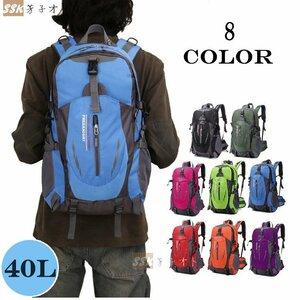 防災リュック 防水 アウトドア デイバッグ 男女兼用 父の日 バッグパック メンズ リュックサック 登山用リュック 登山リュック 旅行バッグ