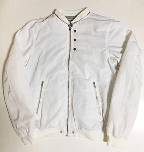 DIESEL MA-1 ジャケット XL WHITE ディーゼル ボンバー フライト ナイロン ブルゾン bomber jacket MA 1 ホワイト 白
